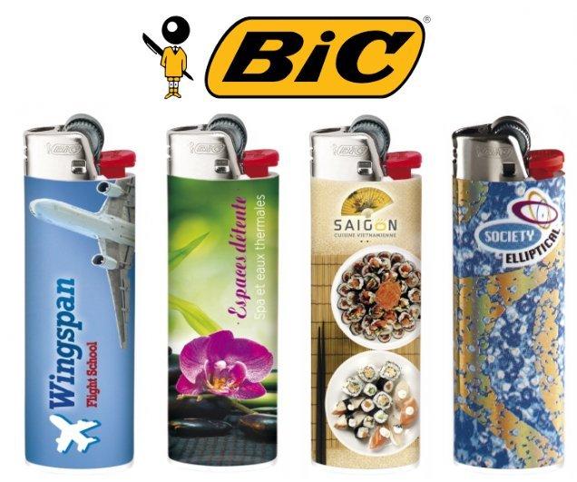 Bic aanstekers bedrukken met logo