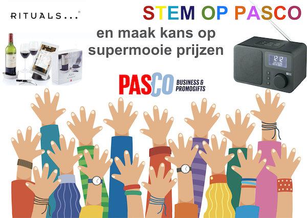 Stem op Pasco en maak kans 3