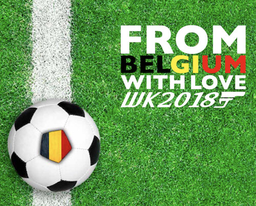 WK 2018 merchandising- from Belgium with love