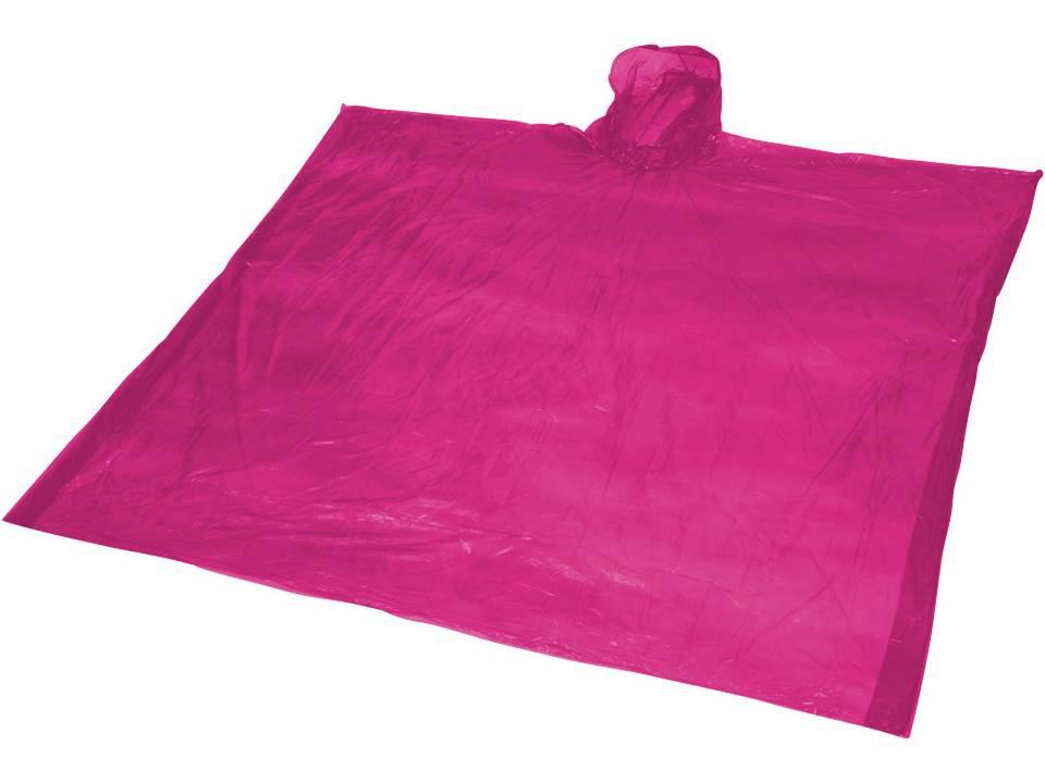 ziva disposable rain poncho with pouch rain ponchos. Black Bedroom Furniture Sets. Home Design Ideas