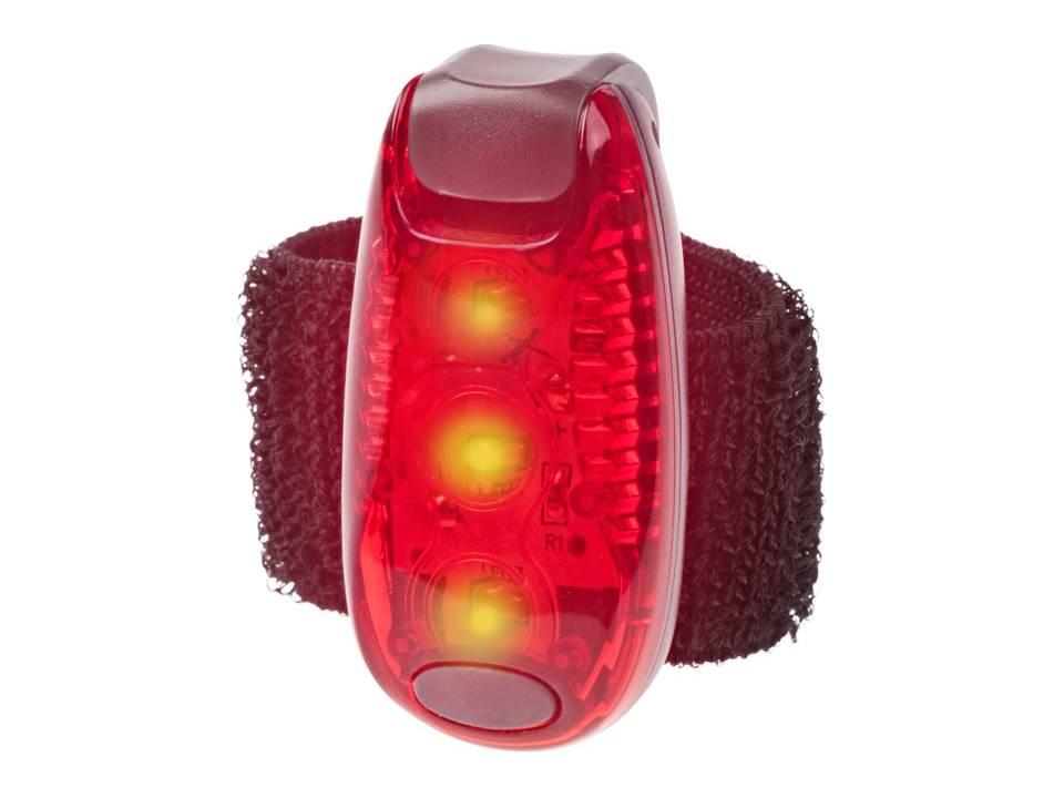 Licht Voor Fiets : Reflecterend licht met klitteband fiets accessoires verkeer