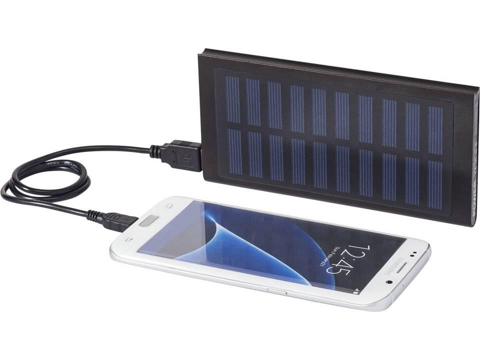 batterie de secours solaire de 8000 mah stellar gadgets intelligents cadeaux d entreprise. Black Bedroom Furniture Sets. Home Design Ideas