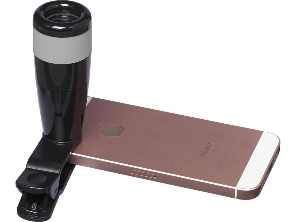 Zoom in telescopic smartphone camera lens phone power banks