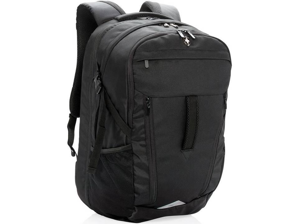 75197d0acaa 15 inch outdoor laptop rugzak met regenhoes - Swiss Peak - Reizen ...