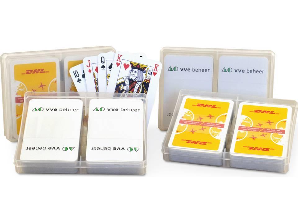 2 spellen in kunststof doosje