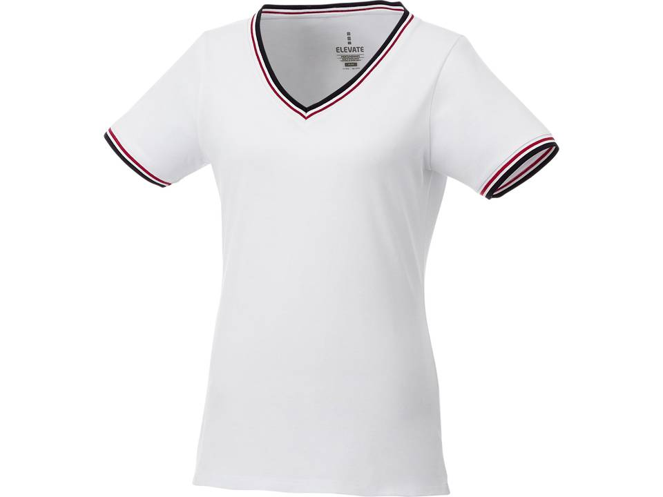 a6d0be8bb Elbert short sleeve women's pique t-shirt - V-neck - T-shirts - Promotional  clothing - Pasco Gifts