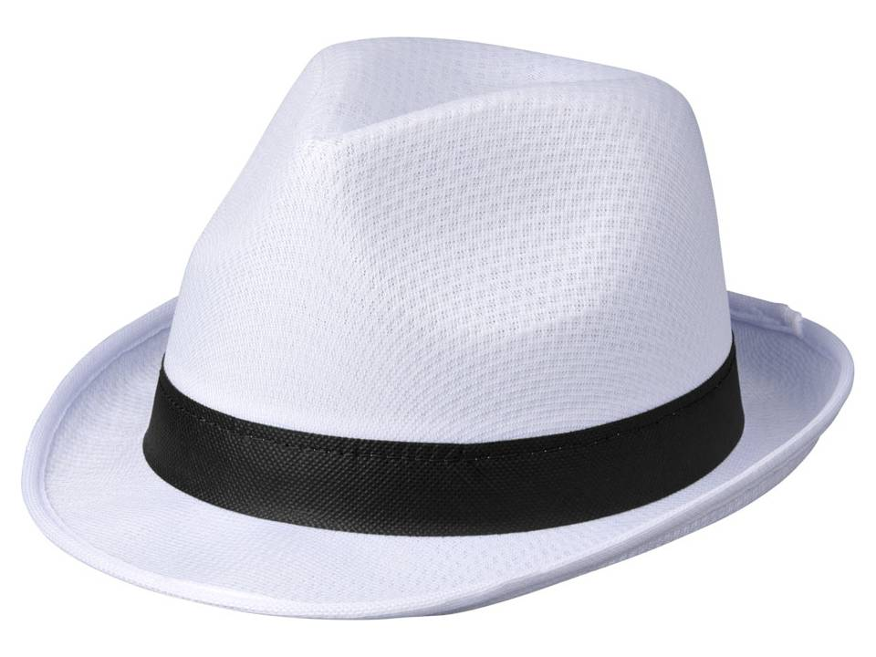 9fe3cdc7 Trilby Hat - White - Hats - Caps & hats - Promotional clothing - Pasco Gifts