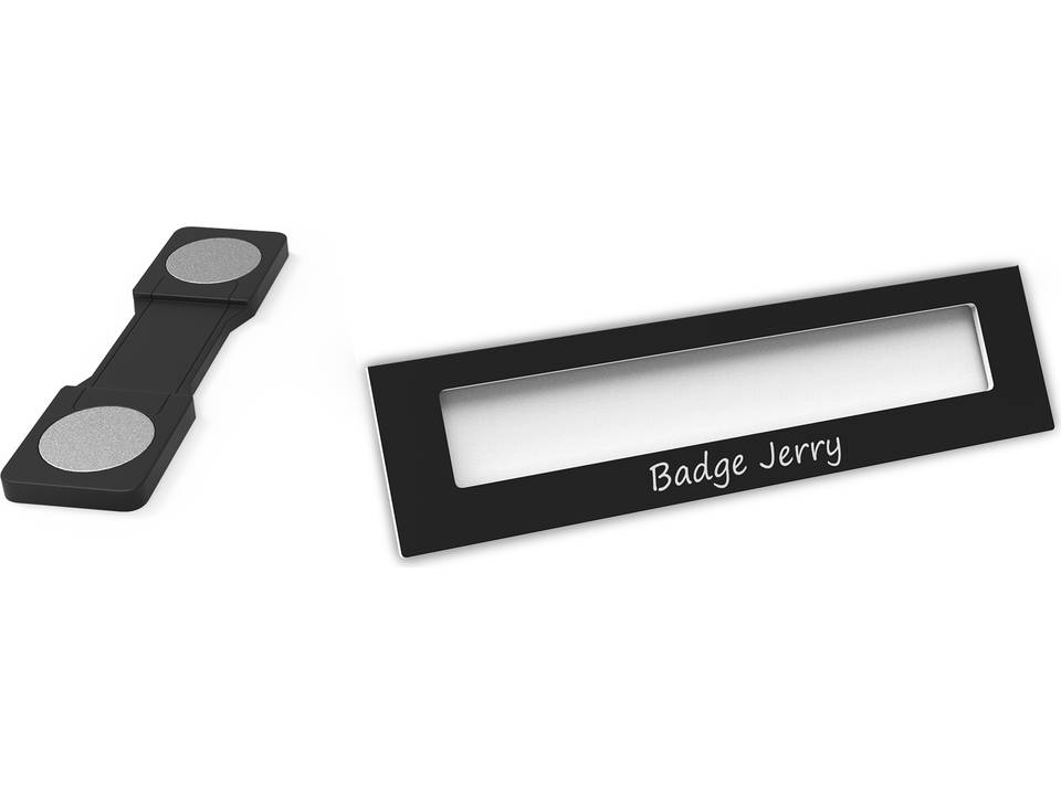 Badge Jerry-black-74x20