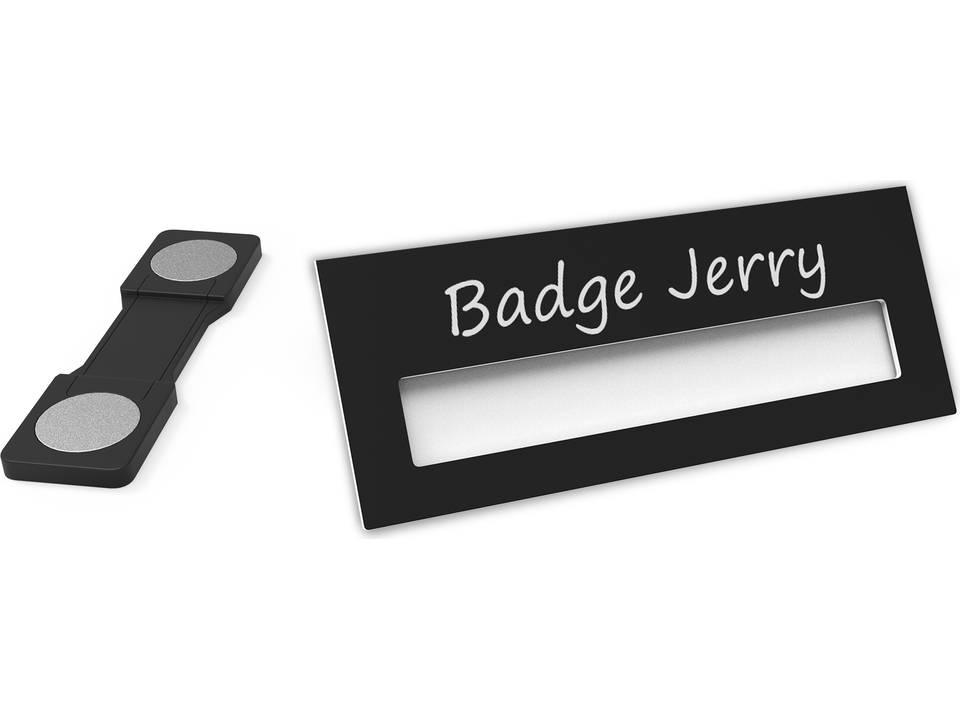 Badge Jerry-black-74x30