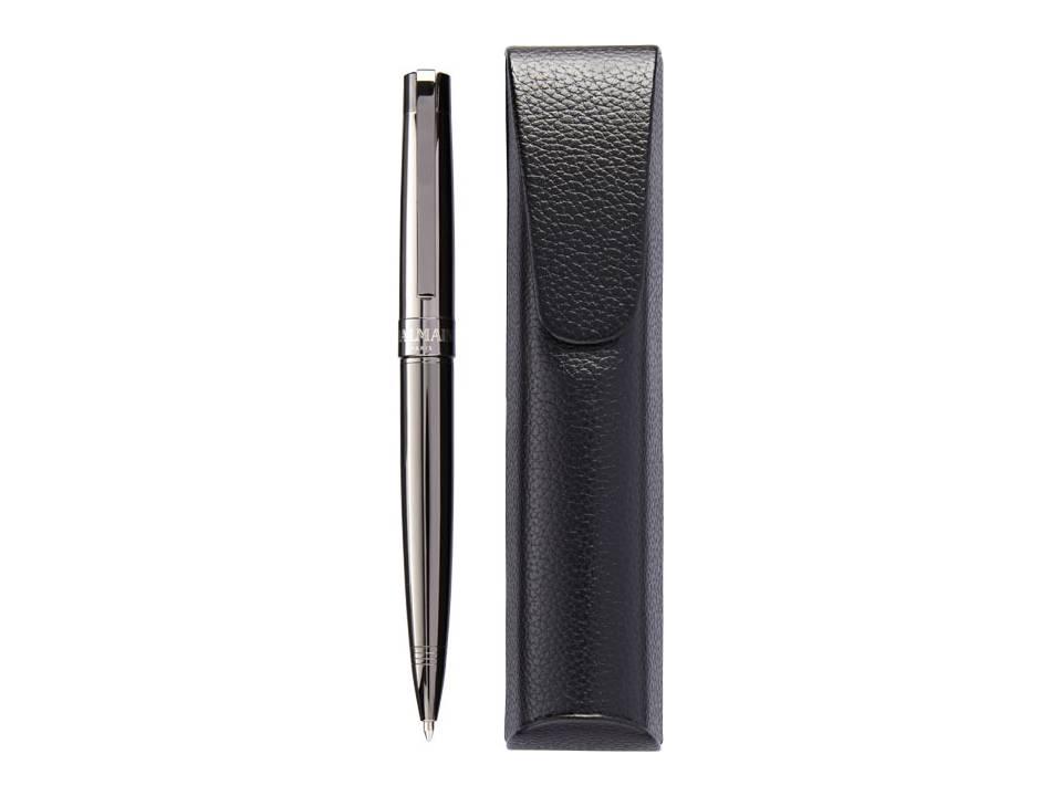 best authentic cheapest price best supplier Balmain pen met pouch giftset