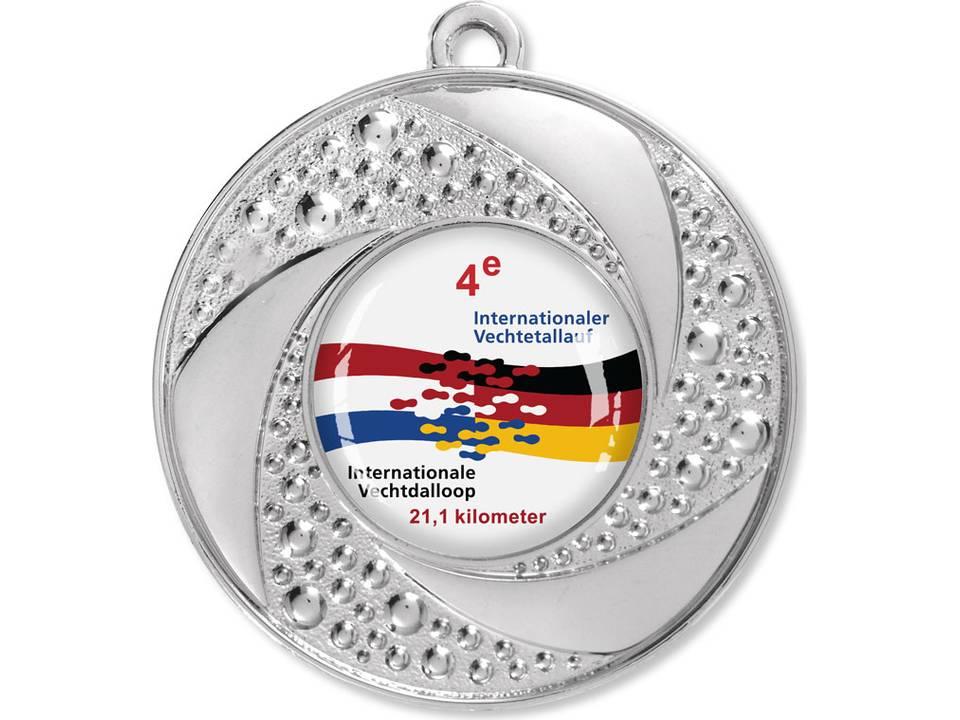 Bedrukte Medaille-Zilver