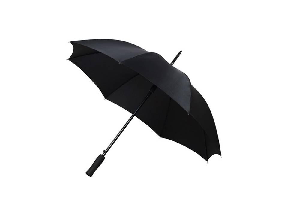 Bedrukte paraplu zwart