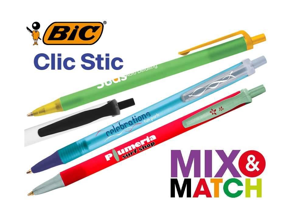 Bic Clic Stic balpen bedrukkenjpg