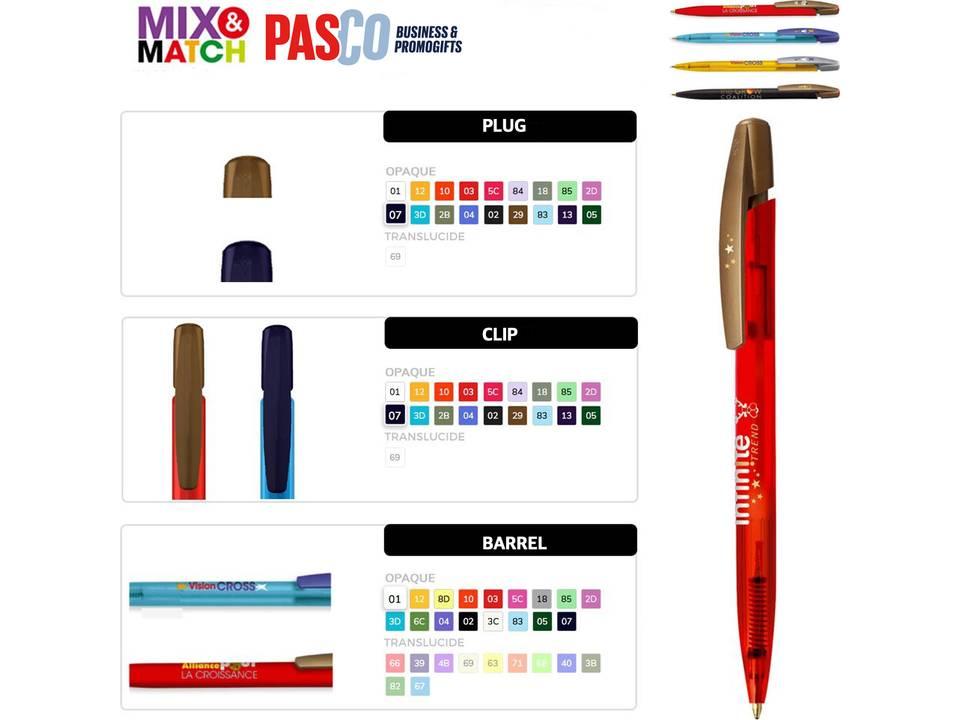 Bic Media Clic pen configuratie bedrukt