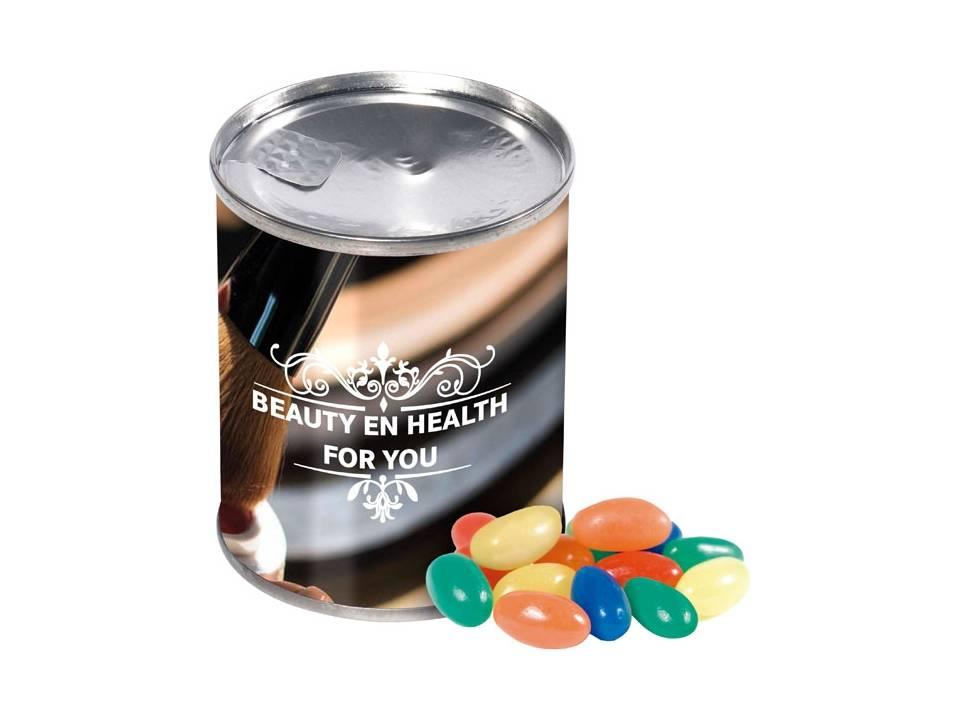 Blikje jelly beans bedrukken