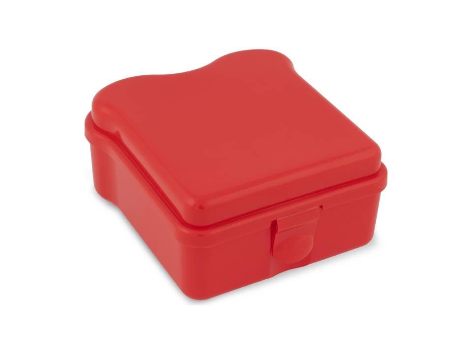 Broodtrommel Sandwich-rood