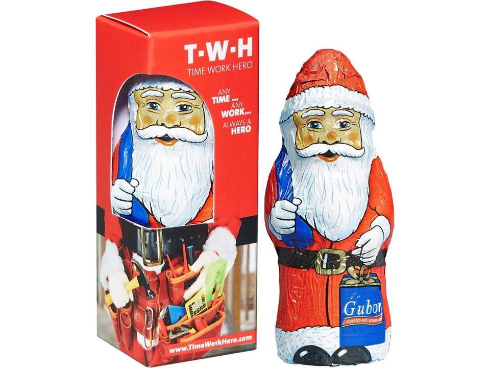 Chocolade Kerstman in doosje
