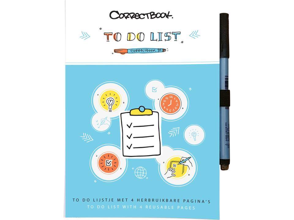 Correctbook Scratch To-Do List