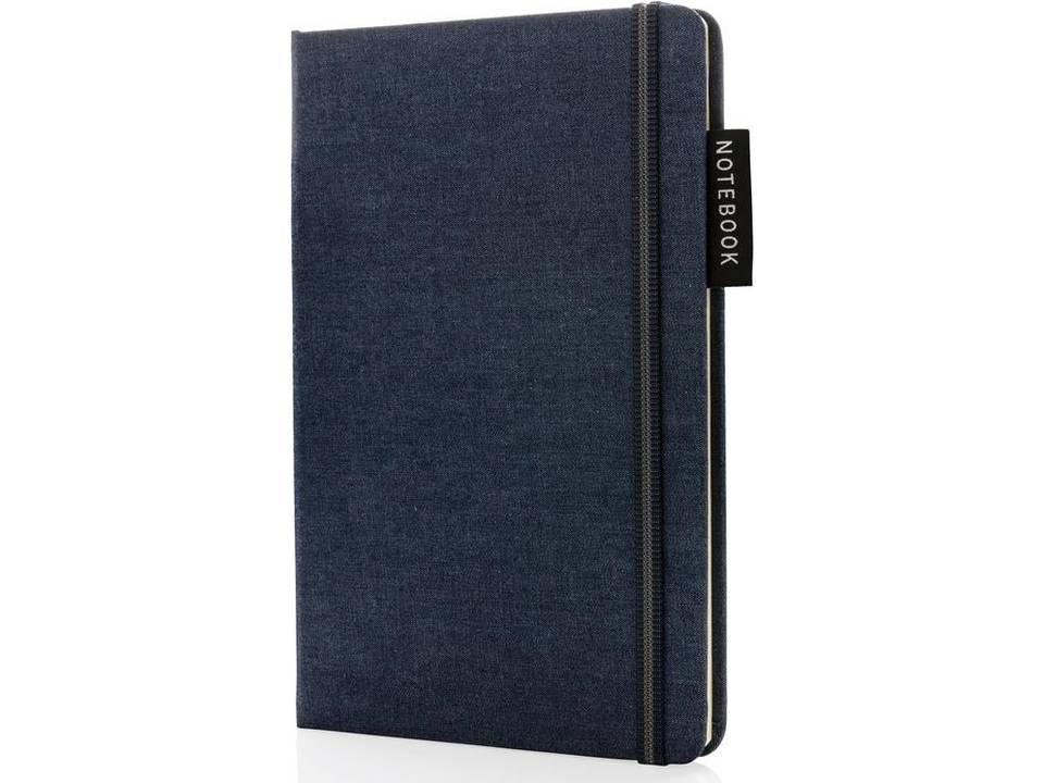 Deluxe A5 notitieboek denim