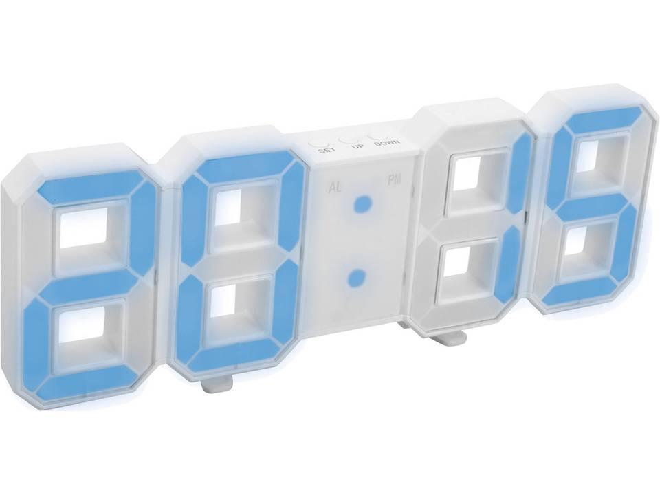 Digitale LED klok bedrukken
