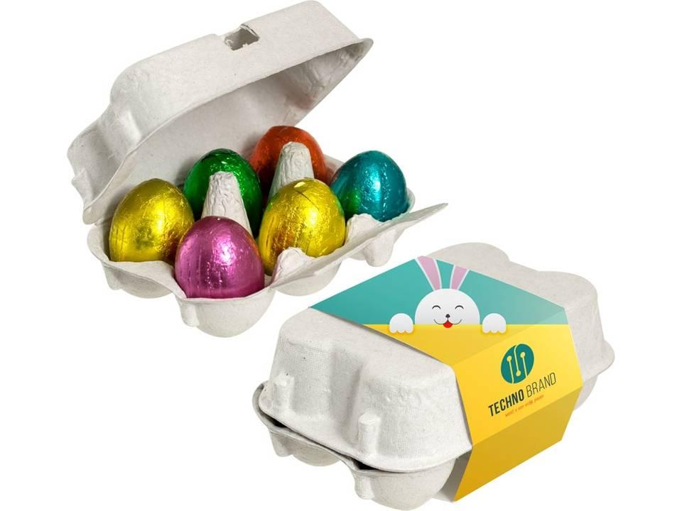 Doosje chocolade eieren bedrukken