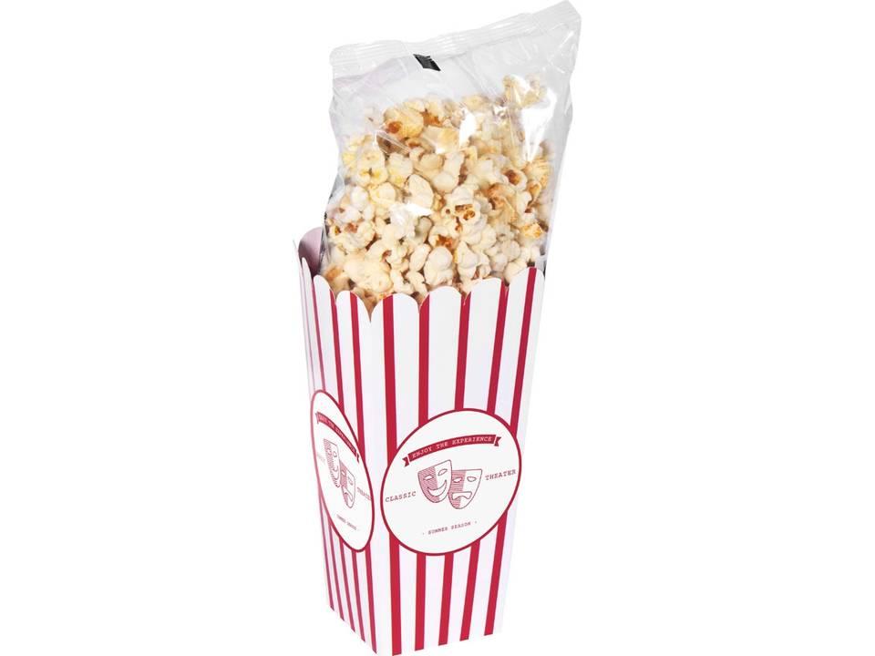 Doosje met popcorn