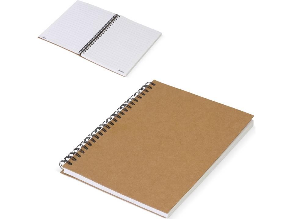 Eco notitieboek gemaakt van stenen