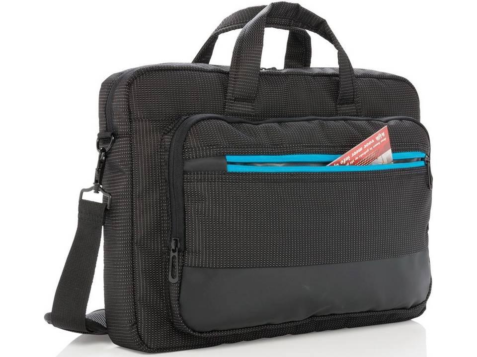 Elite 15,6 inch USB laptop tas bedrukken