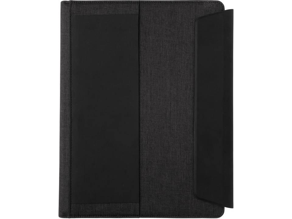 Fiko A4 portfolio met draadloos opladen& 5.000 mAh powerbank-voorzijde