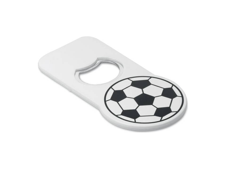 Flesopener met voetbal bedrukken