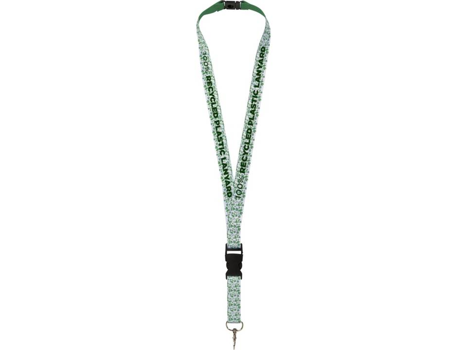 Gerecycled PET full colour design lanyard