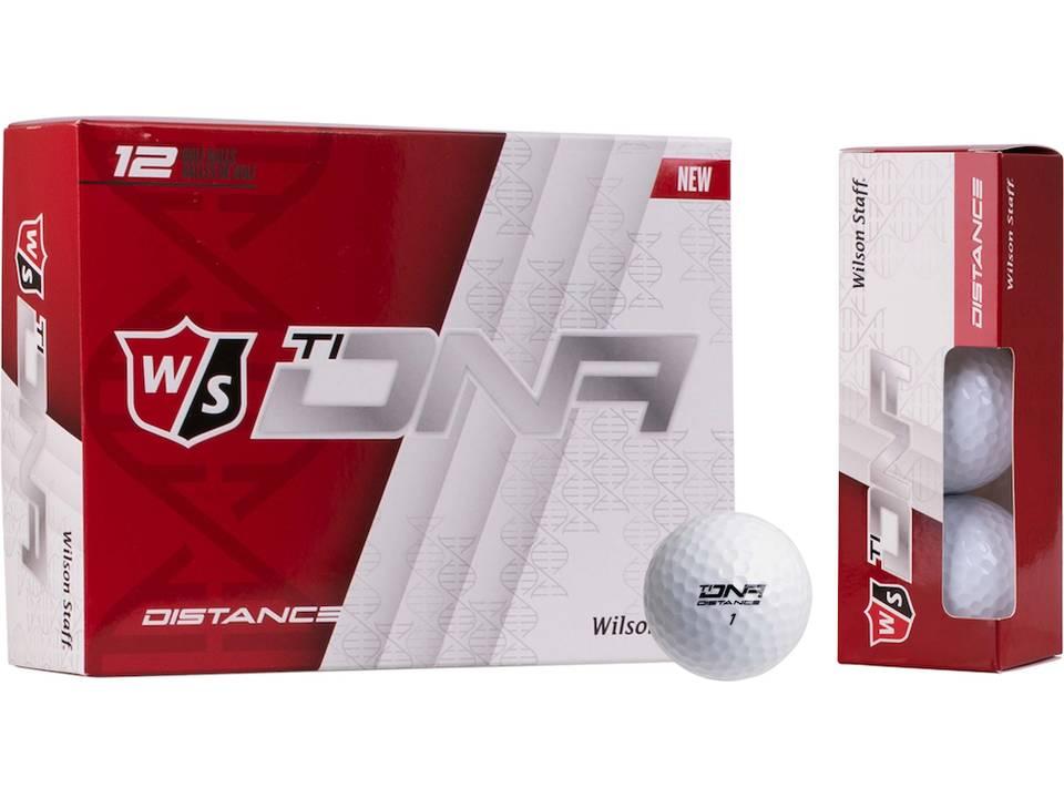 Golfbal Wilson DNA Titanium bedrukken