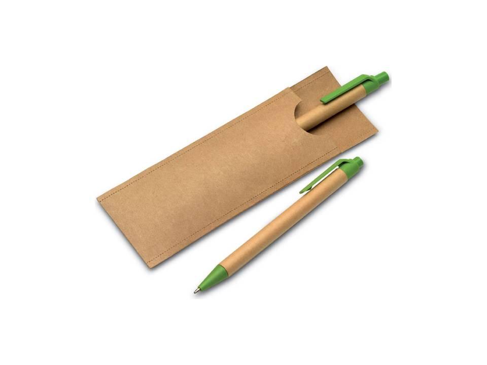 Greenset potlood en balpen
