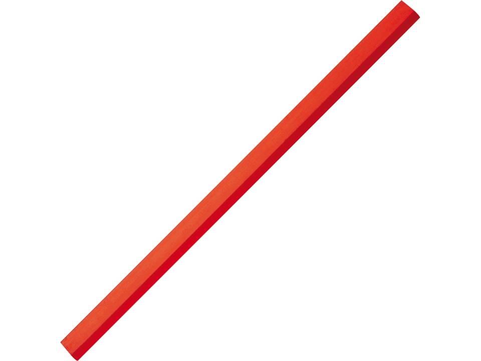 groot timmermanspotlood rood
