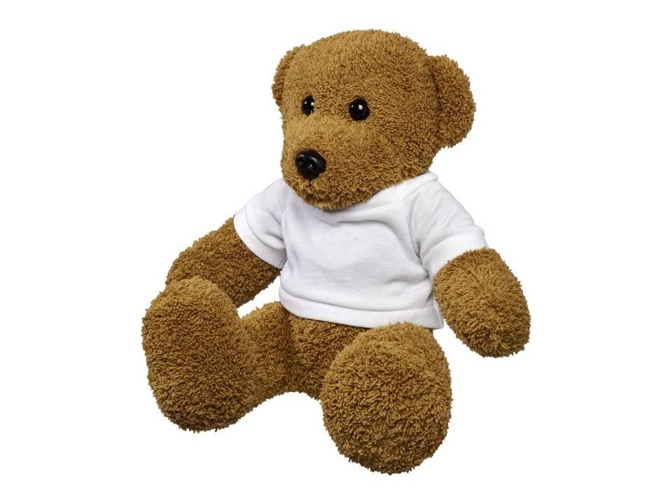 Grote knuffel beer met t-shirt bedrukken