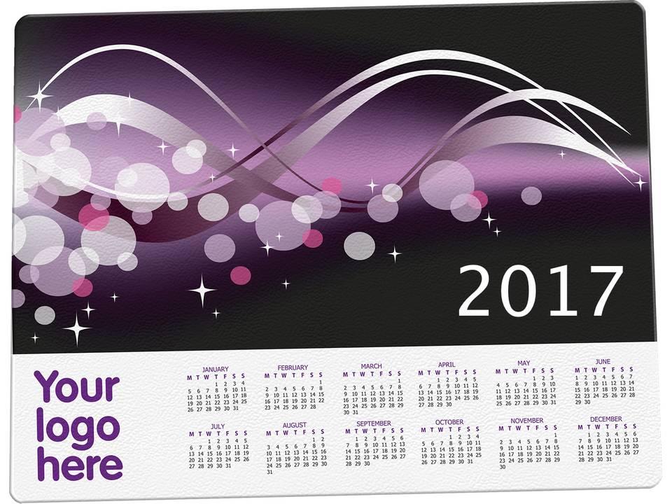 Harde kalender mat 2017