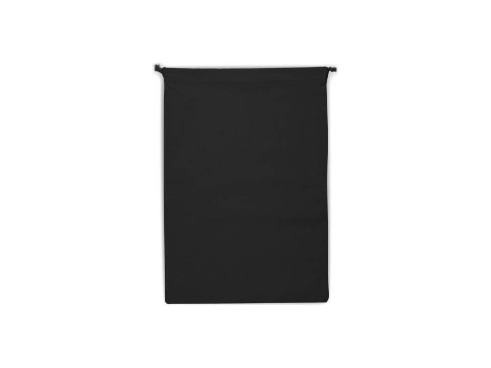 Herbruikbaar Groente & Fruit zakje Oeko-Tex Katoen 30 x 40 cm-zwart