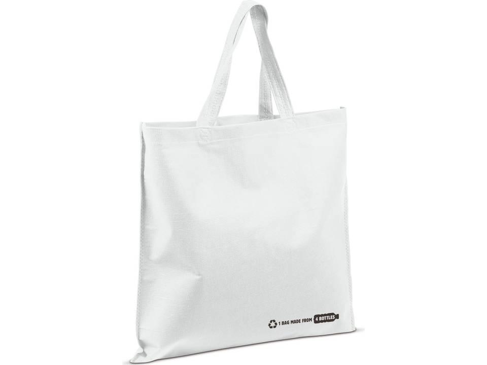 Herbruikbare tas gemaakt uit PET flessen - 38x42cm