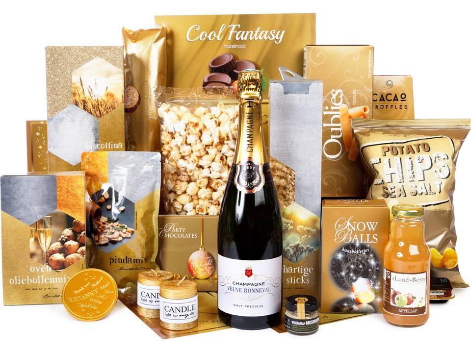 Kerstpakket met Champagne