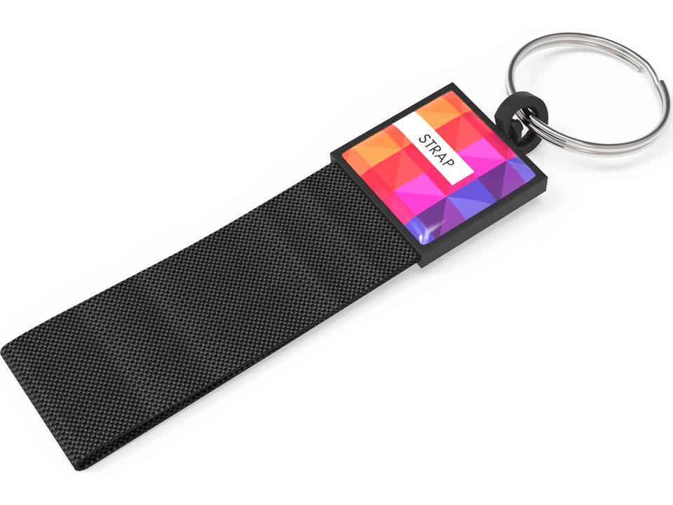 keyringstrap-black