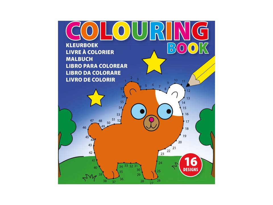 Kleurboek voor kinderen
