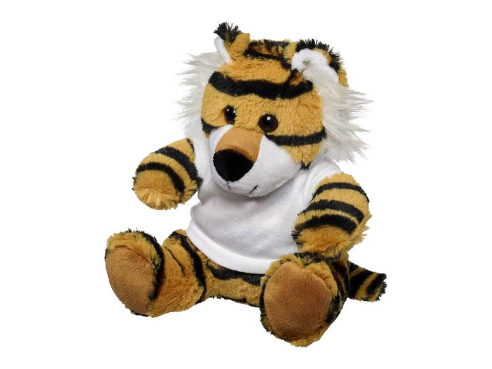Knuffel tijger met T-shirt bedrukken