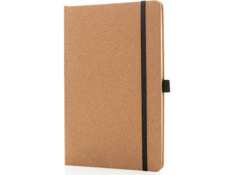 Kurken hardcover notitieboek A5