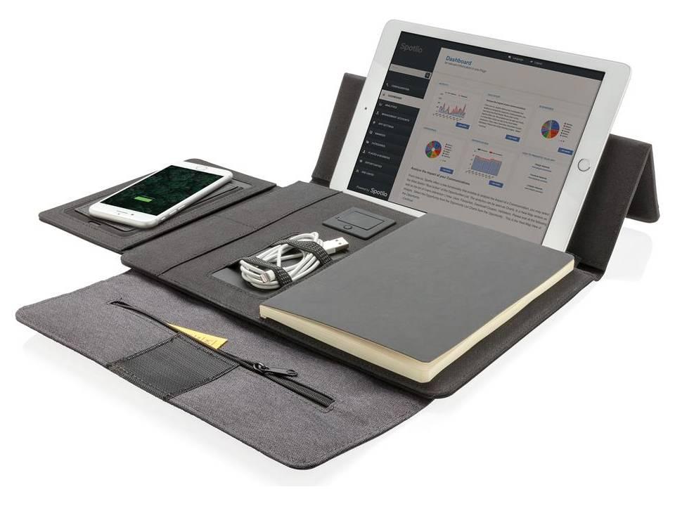 Kyoto Tablet portfolio met draadloze oplader