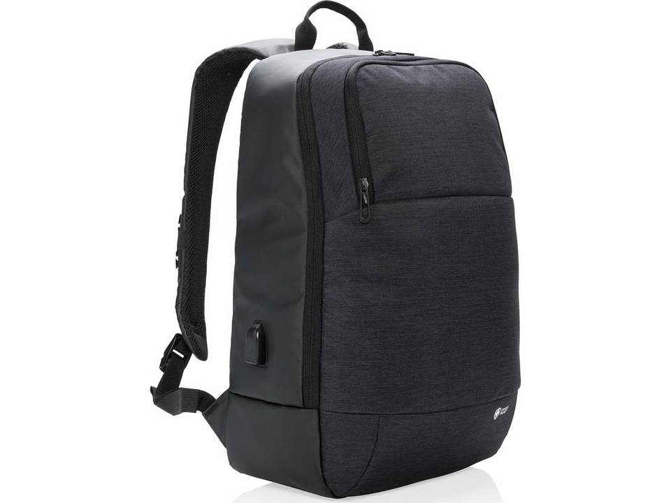 Swiss Peak modern 15 inch laptop backpack - Travel   luggage ... 12c8d538a317