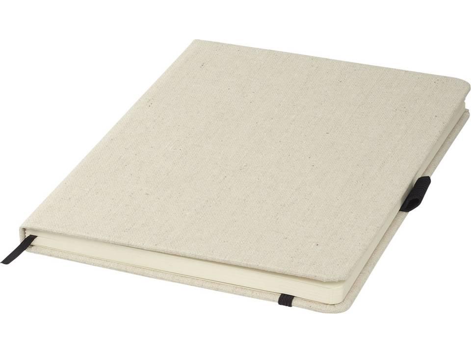 Luna A5 formaat canvas notitieboekje bedrukken