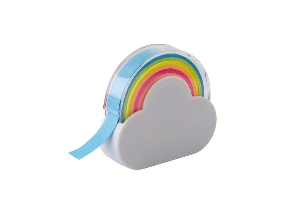 Memo tape houder wolk en regenboog