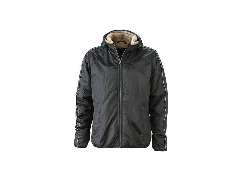 Men`s Winter Sports Jacket zwart
