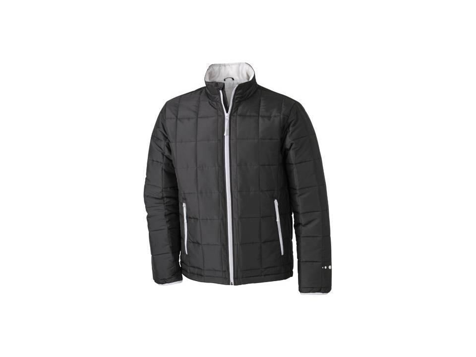 Men's Padded Light Weight Jacket zwart