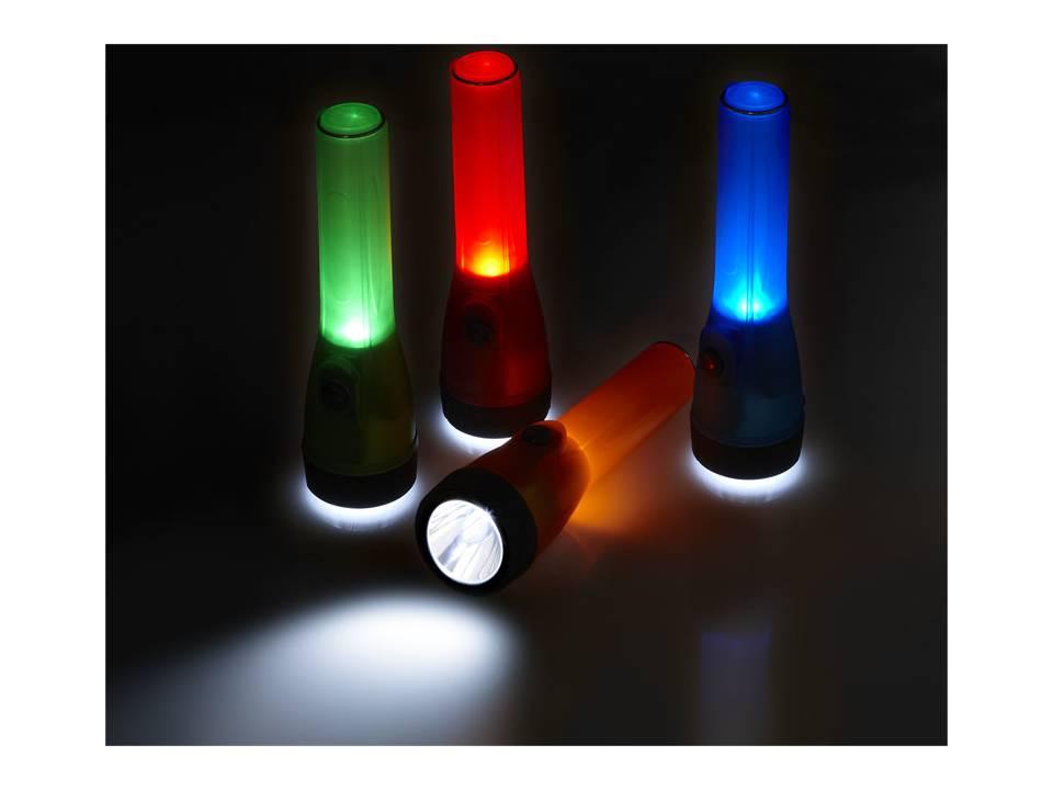 zaklamp met led licht zaklampen werktools lampen promotiemateriaal pasco gifts. Black Bedroom Furniture Sets. Home Design Ideas